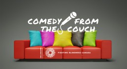 Comedy from the Couch - Global Heroes Magazine 002 - September 2020 - 04 With tagline