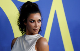 Kim Kardashian, celebrity, attends the CFDA Fashion awards in Brooklyn, New York, U.S., June 4, 2018. REUTERS/Shannon Stapleton/File Photo