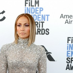35th Film Independent Spirit Awards – Arrivals – Santa Monica, California, U.S., February 8, 2020 – Jennifer Lopez. REUTERS/Lucas Jackson