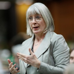 Canada's Minister of Health Patty Hajdu speaks during Question Period in the House of Commons on Parliament Hill, as efforts continue to help slow the spread of the coronavirus disease (COVID-19), in Ottawa, Ontario, Canada April 20, 2020. REUTERS/Blair Gable