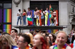 People attend the annual Pride in London parade, in London, Britain July 6, 2019. REUTERS/Henry Nicholls