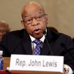 Rep. John Lewis (D-GA) testifies to the Senate Judiciary Committee during the second day of confirmation hearings on Senator Jeff Sessions' (R-AL) nomination to be U.S. attorney general in Washington, U.S., January 11, 2017. REUTERS/Joshua Roberts