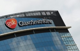 General view outside GlaxoSmithKline (GSK) headquarters in Brentford, following the outbreak of the coronavirus disease (COVID-19), London, Britain, May 4, 2020. REUTERS/Matthew Childs