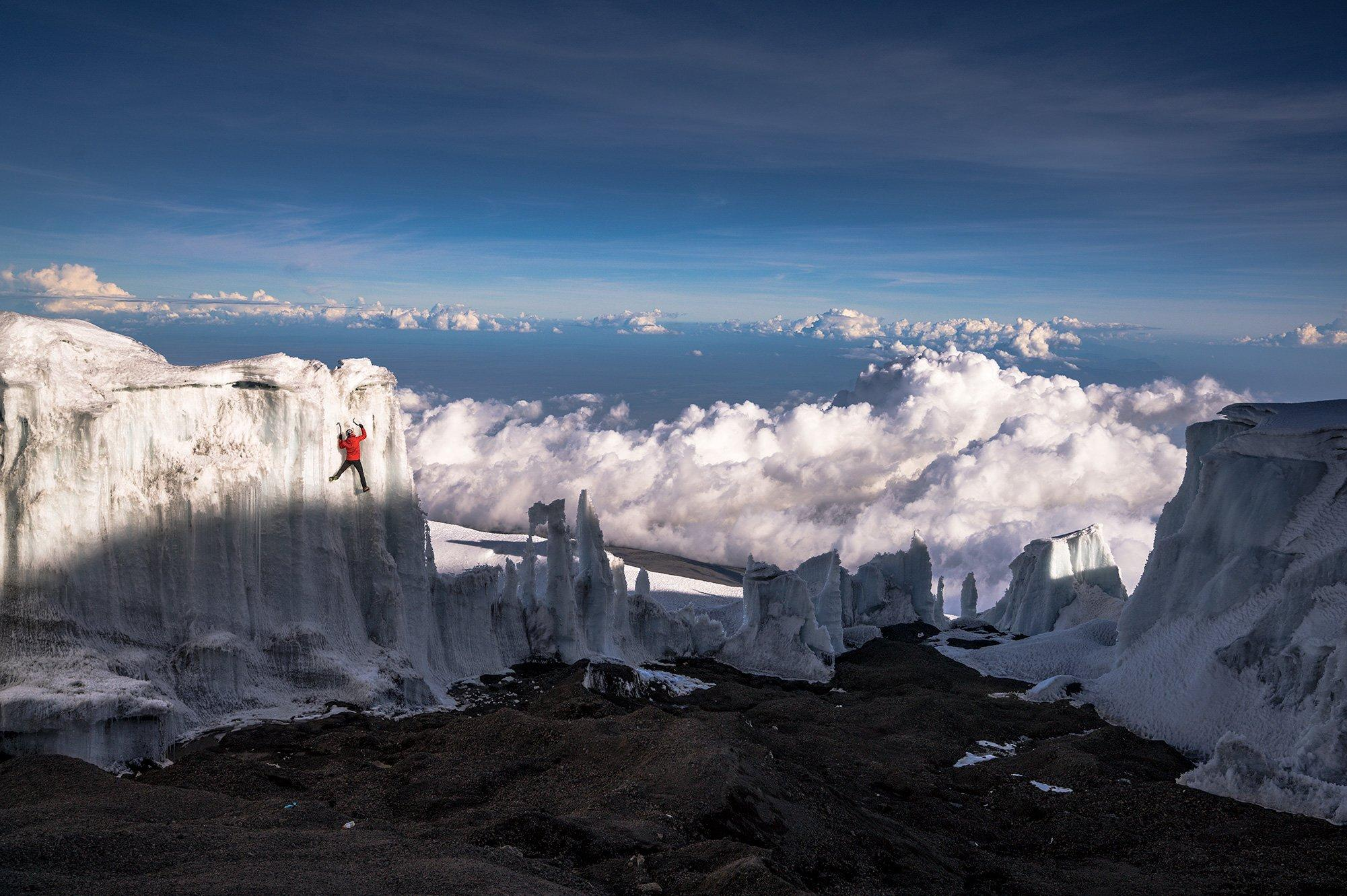 Will Gadd faces climate change realities on Mount Kilimanjaro - GLOBAL HEROES MAGAZINE
