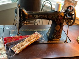 Colorado Couple Restores 100-Year-Old Sewing Machine and Donates Masks Around the World