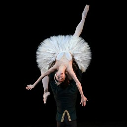Dancers Akane Takada and Federico Bonelli perform at The Royal Ballet: Back on Stage during a live-streamed performance at the Royal Opera House in London, Britain October 8, 2020. REUTERS/Dylan Martinez