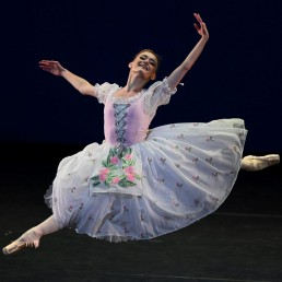 Dancer Anna Rose O'Sullivan performs at The Royal Ballet: Back on Stage during a livestreamed performance at the Royal Opera House in London, Britain October 8, 2020. REUTERS/Dylan Martinez