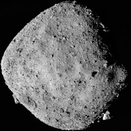 NASA Makes History. This mosaic image of asteroid Bennu, composed of 12 PolyCam images collected on December 2, 2018 by the OSIRIS-REx spacecraft from a range of 15 miles (24 km). NASA/Goddard/University of Arizona/Handout via REUTERS