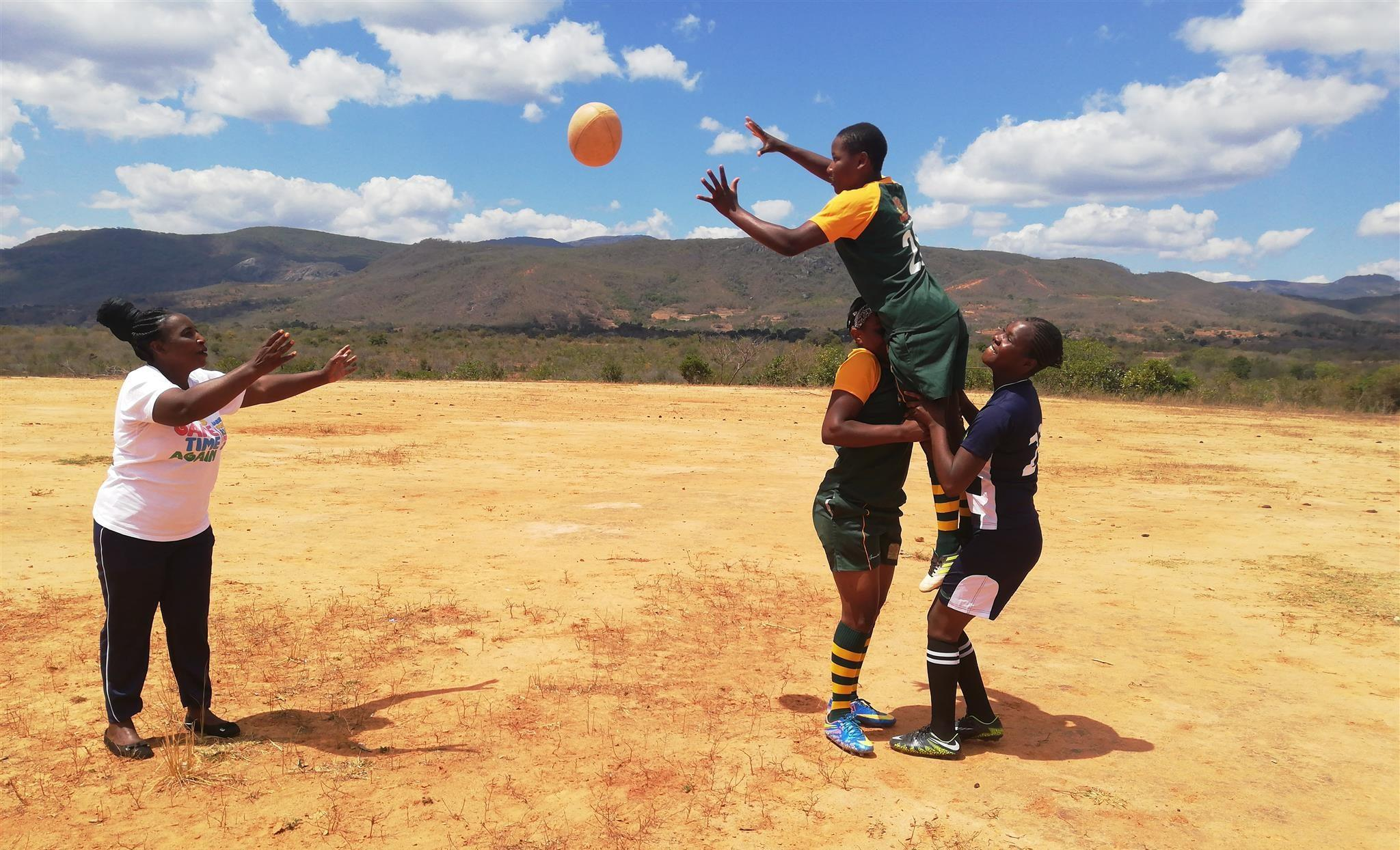 Rugby saves school girls from child marriage in rural Zimbabwe