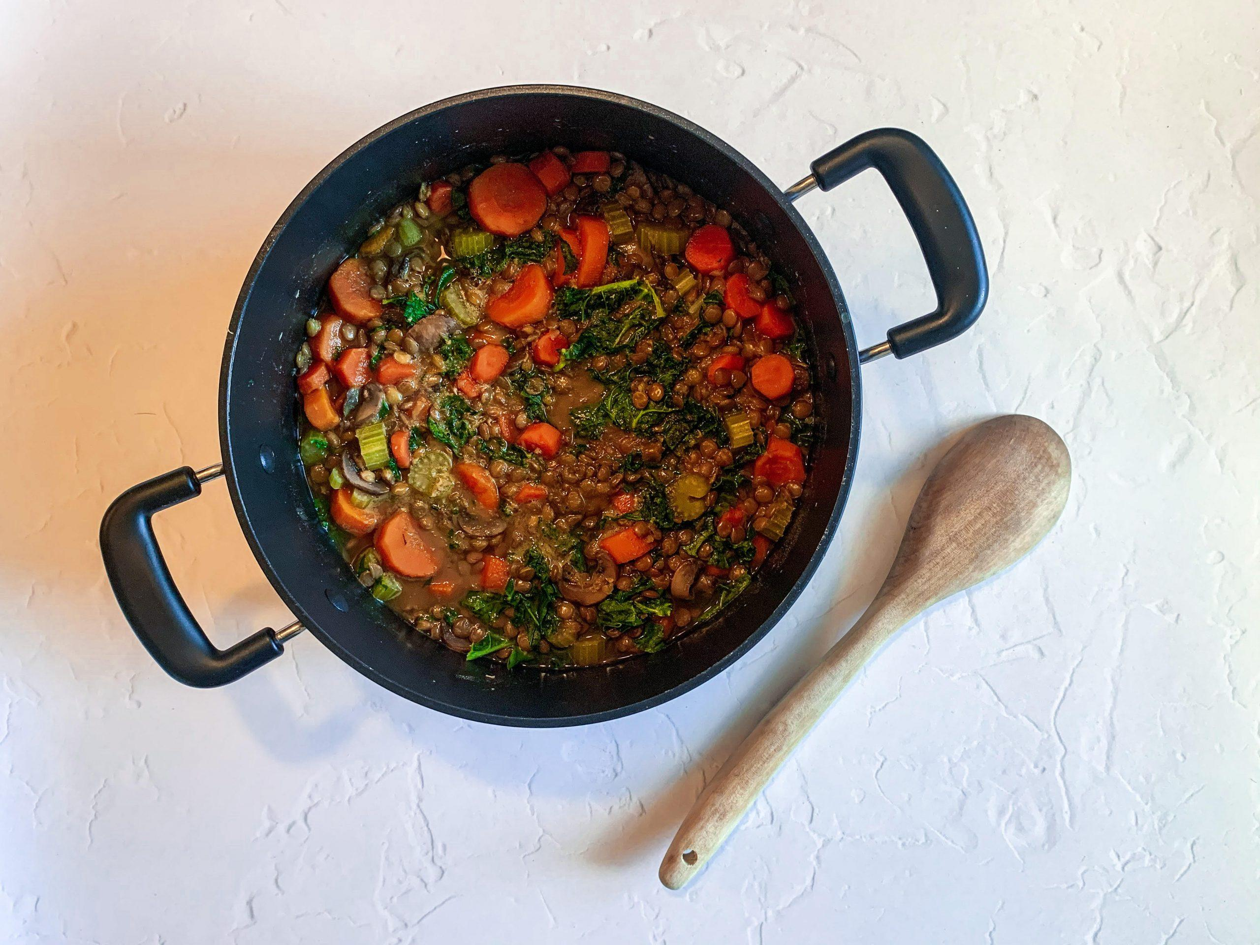 A Healthy Lentil Soup Recipe to Try This Weekend