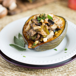 Flavourful Fungi The Year-Round Harvest Stuffed-Squash 2 Canada Mushrooms