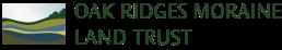 Oak ridges moraine land trust logo