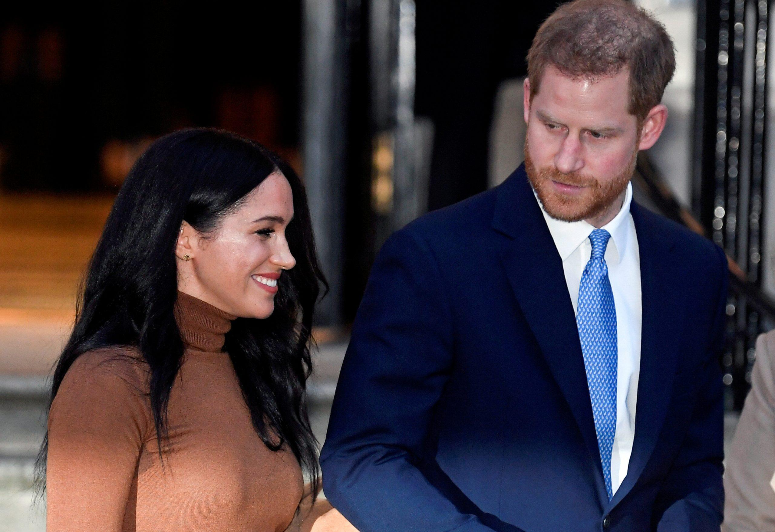 Britain's Prince Harry and Meghan Markle announce partnership with food charity