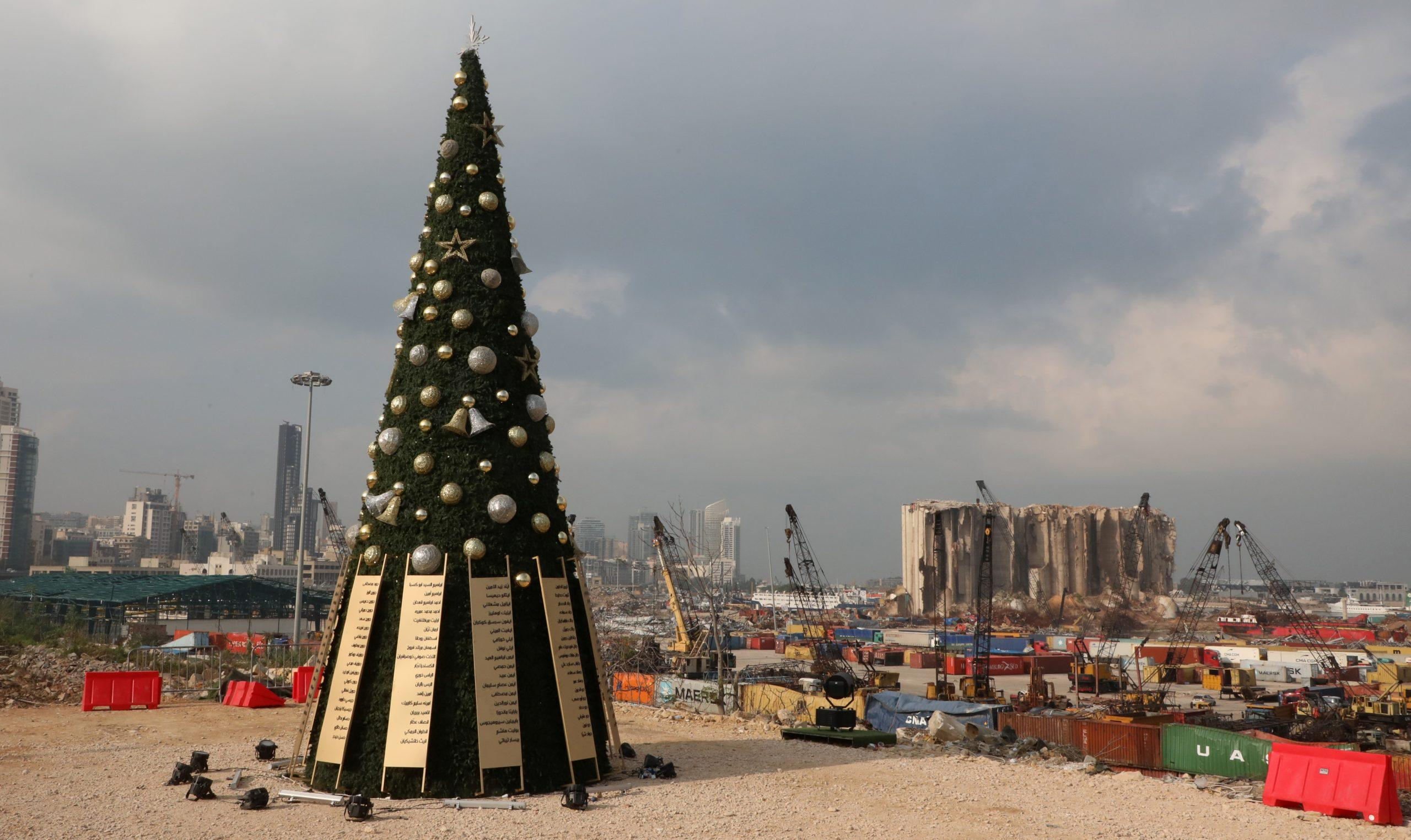 'Glimmer of hope': Beirut seeks Christmas cheer after difficult year