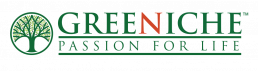 Greeniche logo Passion for Life
