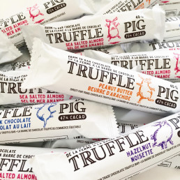 truffle pig chocolate, local, small business, gifts