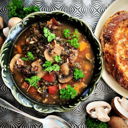 Warm up with hearty winter recipes soup mushroom recipe cook minute