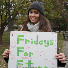 youth activist, climate change, protest