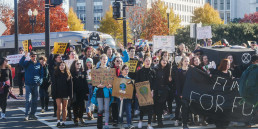 protest, climate change, youth activist