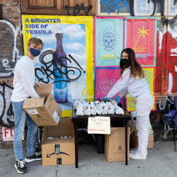 sustainable homeless shelters new york help
