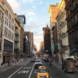 street vendor new york city robin hood donation