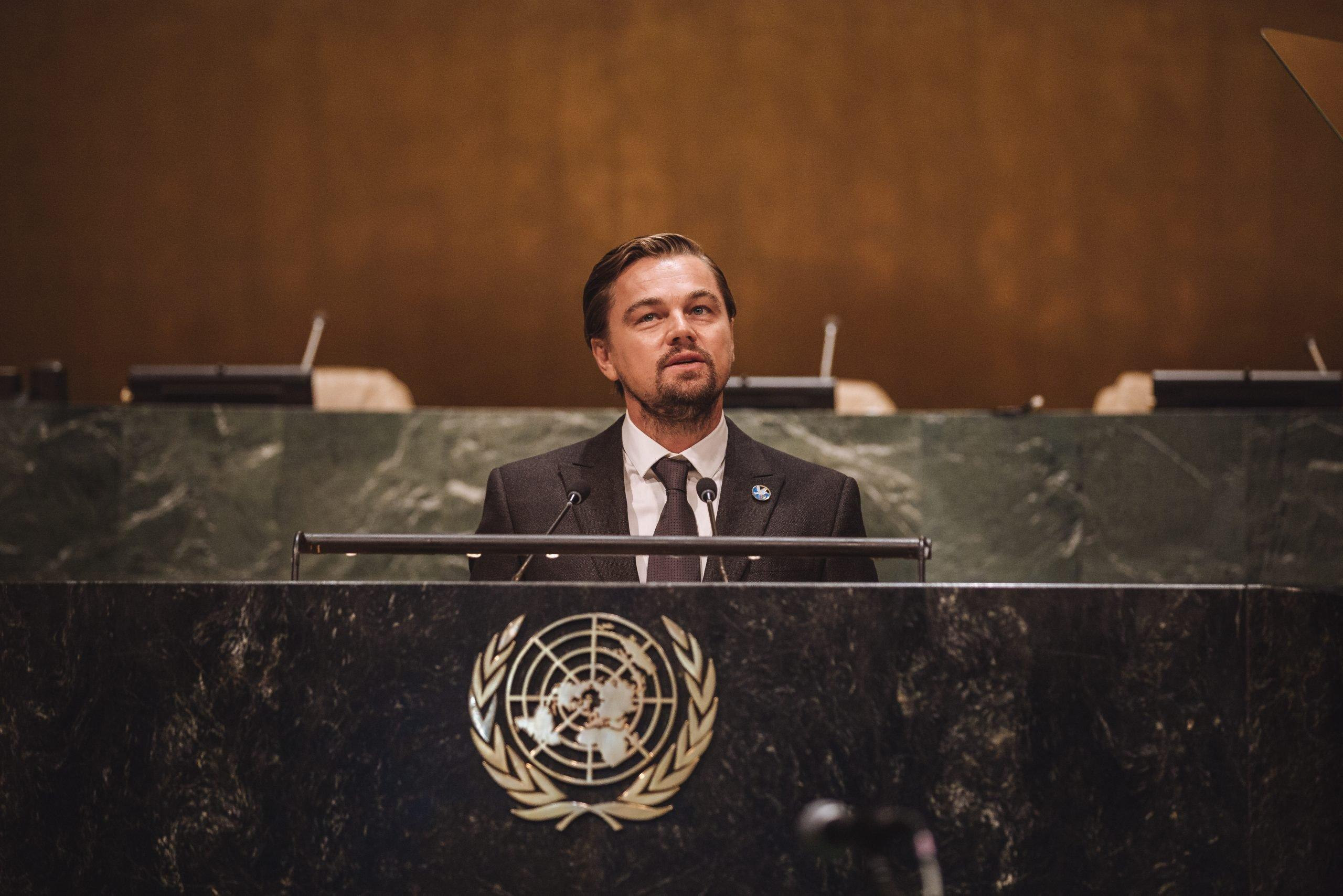 Leonardo DiCaprio urges America's new leader to jump on environmental issues