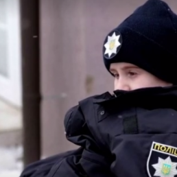 police ukraine 10-year-old brain tumor