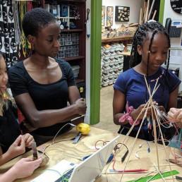 engineer volunteer STEM kid engineers