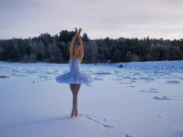 gulf of finland Ilmira Bagautdinova natural habitat dancer