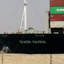 suez canal shipping container suez canal ship refloated