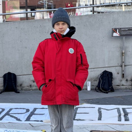 global greta thunberg vaccine distribution climate activist