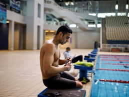 paralympics tokyo 2020 olympic swimmer refugee