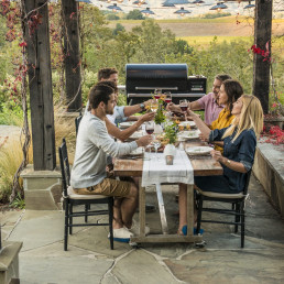 summer cookout socially distanced outdoor spaces