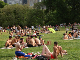 central park new york city pandemic concert
