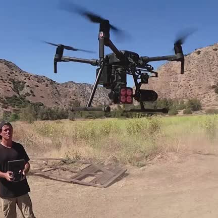 animal rescue drone pilot animals disaster zones