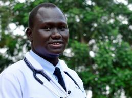 uganda refugee doctor hospital