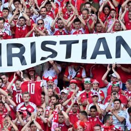eriksen denmark euro 2020 danish fans
