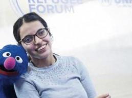 nujeen mustafa education refugee disability