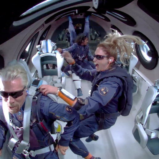 richard branson virgin galactic space flight astronaut