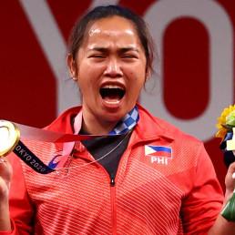 philippines gold medal hidilyn diaz tokyo 2020