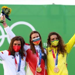 germany gold medal ricarda funk women's kayak slalom
