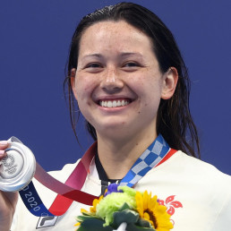 hong kong silver medal siobhan haughey 200m freestyle