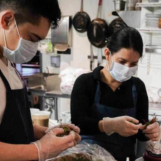 volunteer donate meals off their plate restaurants