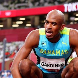 olympic gold bahamas 400m steve gardiner