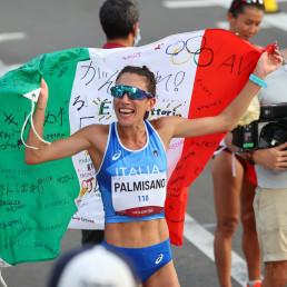 race walk italy antonella palmisano gold medal