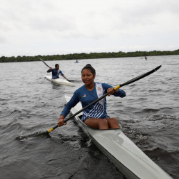 canoeing indigenous olympic brazil