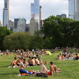 new york city coronavirus central park concert