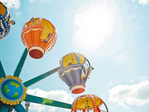 002GHN Planet Snoopy ride
