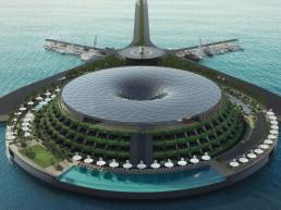 floating hotel eco travel luxury hotel anthenea
